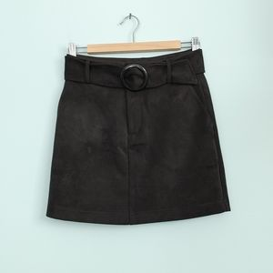 🔥3/$25 | F21 | faux suede skirt
